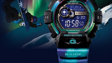 G-Shock G-LIDE Aurora Collection