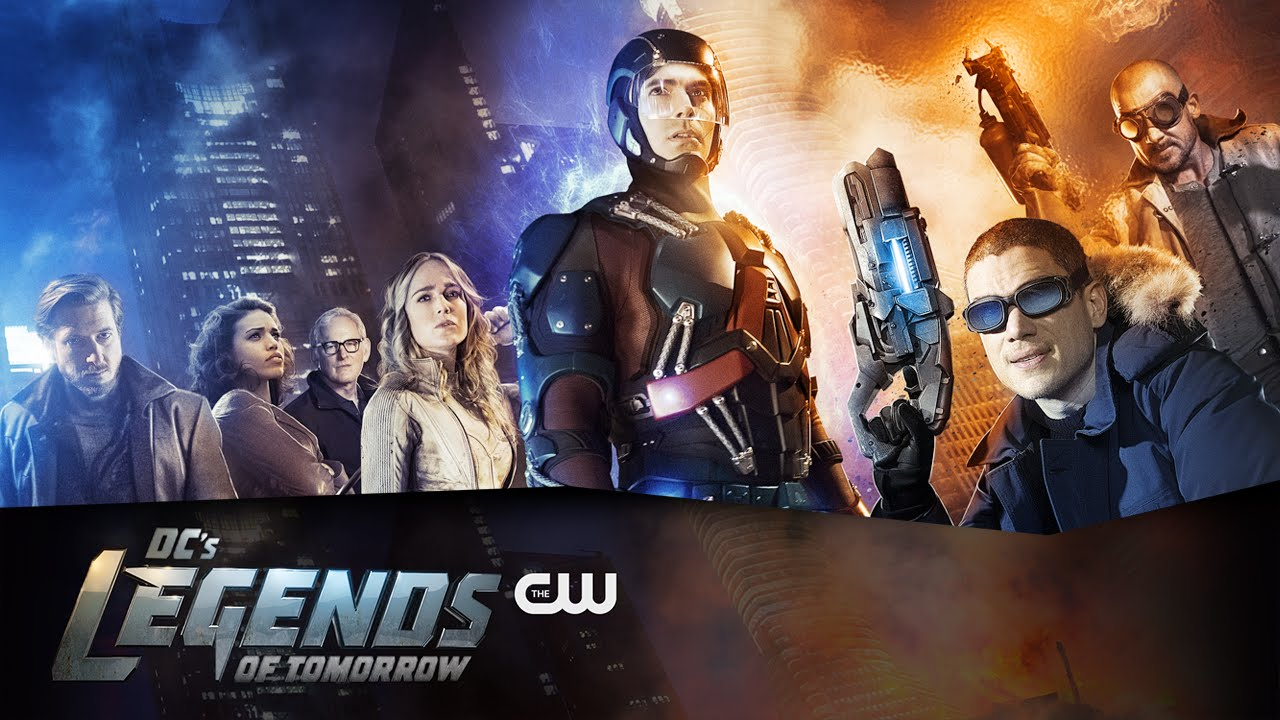 Watch DC Comics Legends of Tomorrow Series Trailer Coming to CW