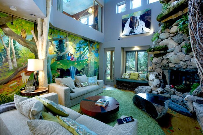 Jungle Inspired Room
