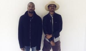 Raury with Kanye